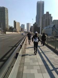 東京M 試走 3