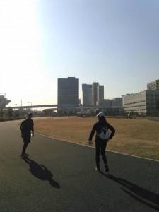東京M 試走 2